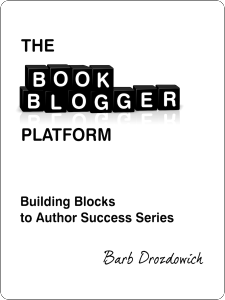 The Book Blogger Platform by Barb Drozdowich cover