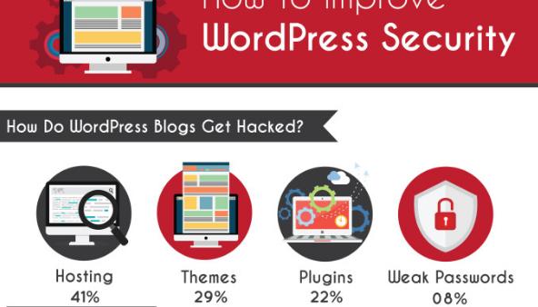 How to Improve WordPress Security (Infographic)